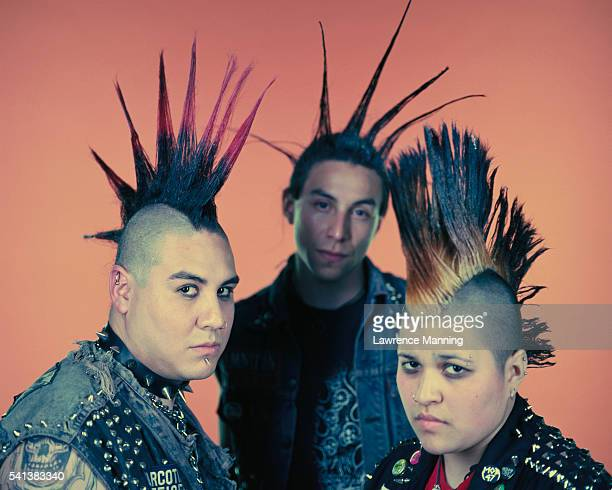 Punks with Mohawks