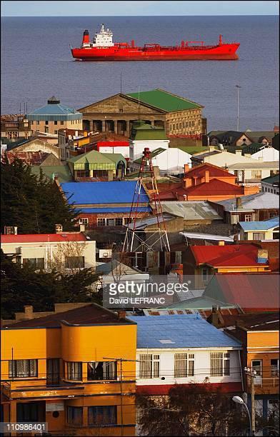 Punta Arenas in Punta Arenas Chile in October 2003
