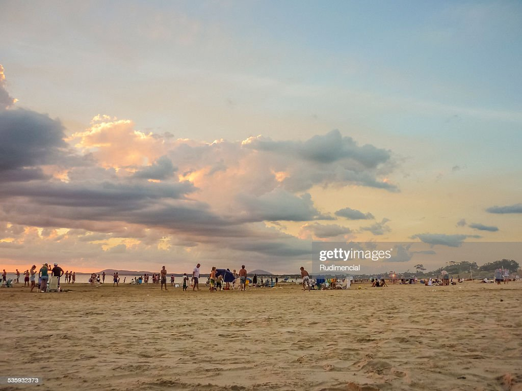 Punta Ballena Beach in Uruguay : Stock Photo