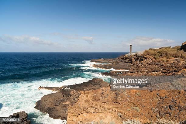 'Punta cumplida' lighthouse (La Palma island. Canaries. Spain)