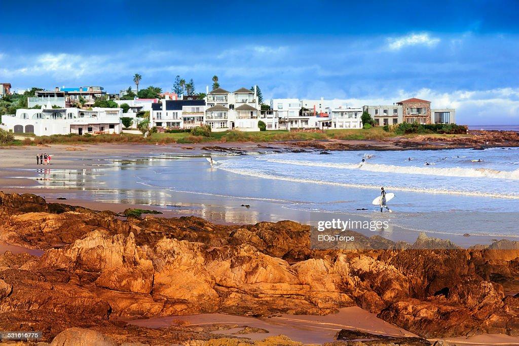 Punta del Este beach, Maldonado, Uruguay : Stock Photo