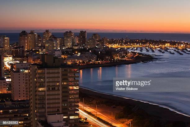 punta del este - maldonado uruguay stock pictures, royalty-free photos & images