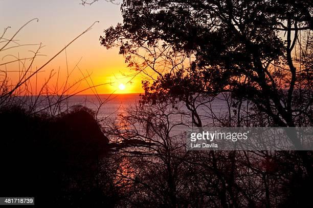 punta papagayo. costa rica - papagayo guanacaste fotografías e imágenes de stock
