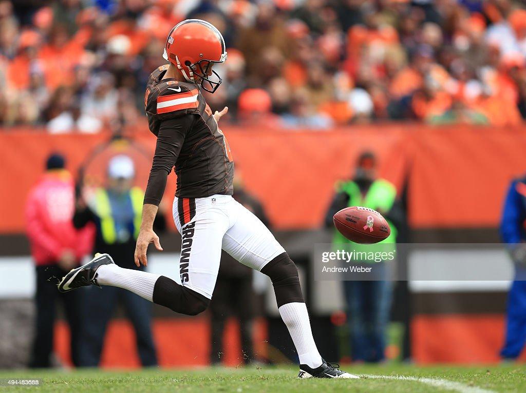 Denver Broncos v Cleveland Browns : Foto jornalística
