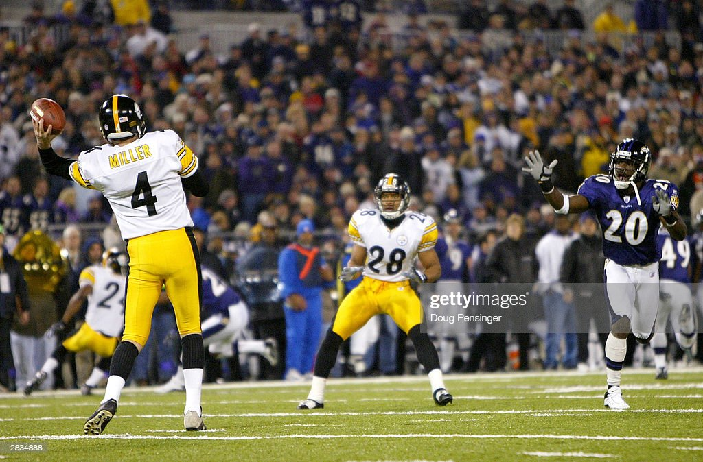 Steelers v Ravens : News Photo
