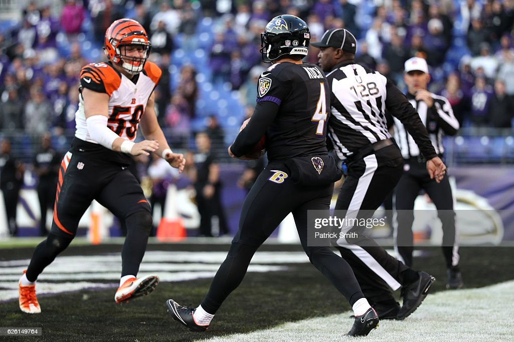 Cincinnati Bengals v Baltimore Ravens : News Photo