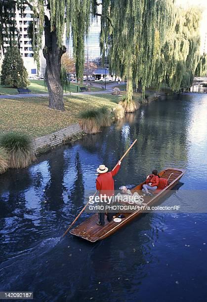 Punting at Avon River