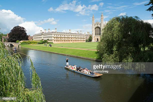 Punting in Cambridge