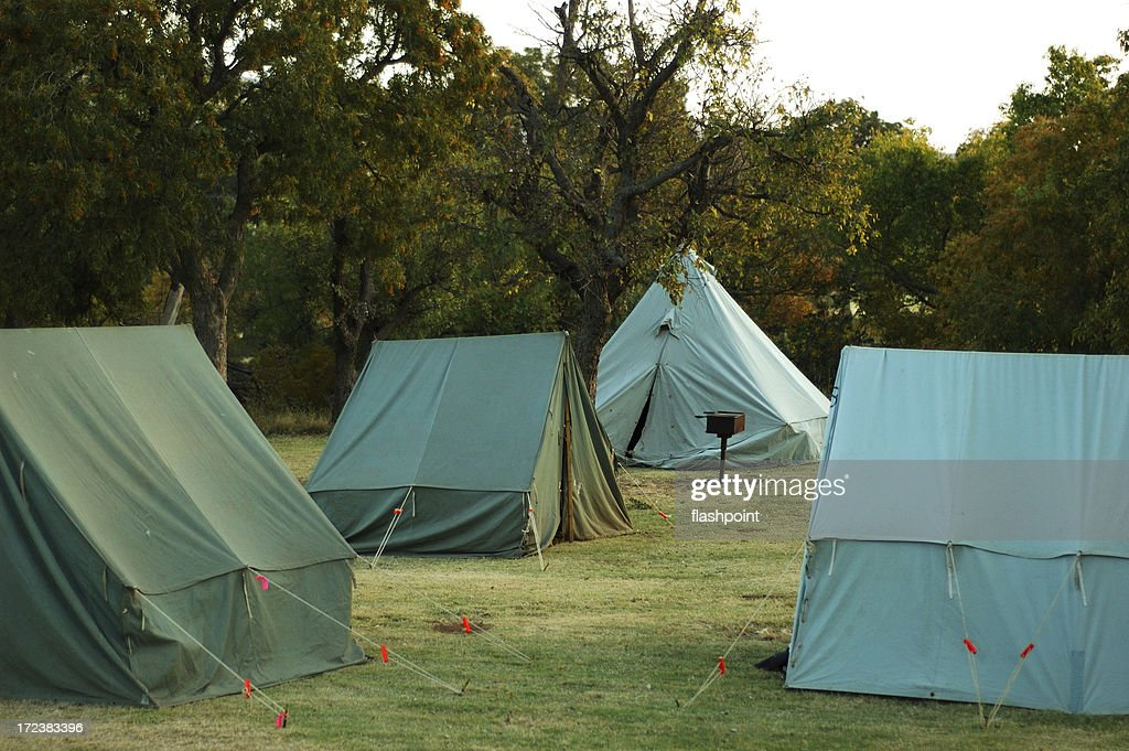 Pup Tents : Stock Photo