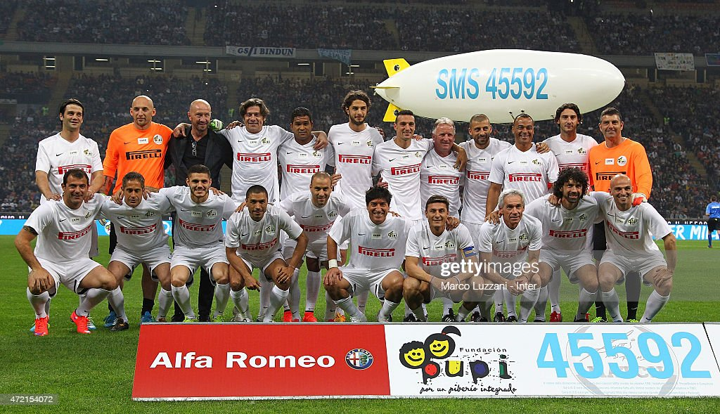 Zanetti And Friends Match For Expo 2015 : News Photo