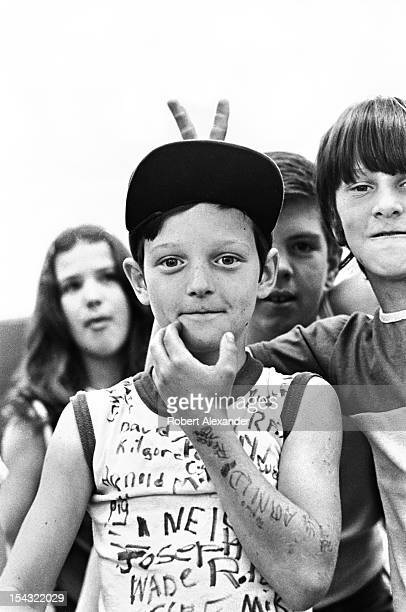 Pupils celebrate the last day of school at William King Elementary in the Appalachian town of Abingdon in Southwest Virginia 5104602RA_Appalachia57jpg
