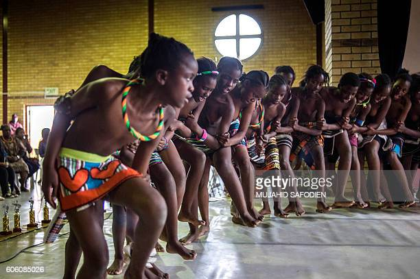 Pupils from Soweto schools perform during a Dance Event oragnized by the Joburg Ballet to mark the upcoming National Heritage day at the Albertina...