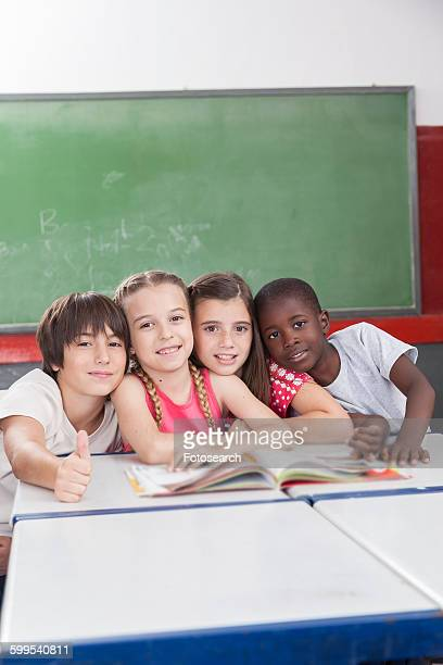 pupils looking at camera - junior girl models stock pictures, royalty-free photos & images