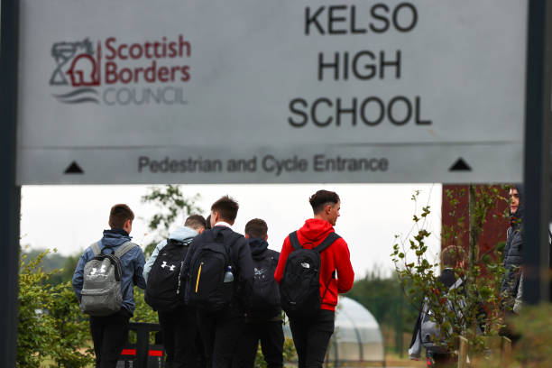 GBR: Scottish Pupils Return To School After Lockdown