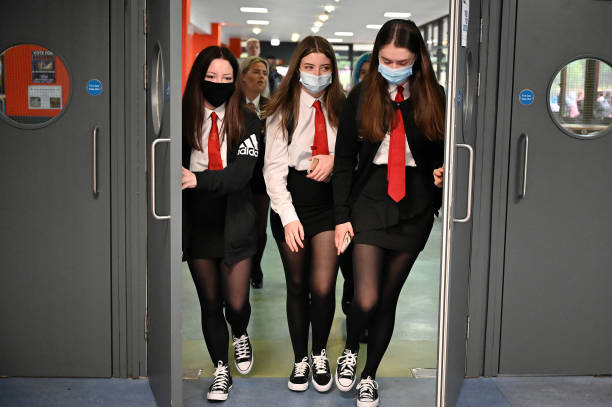 GBR: Scottish Pupils Return To School After Lockdown