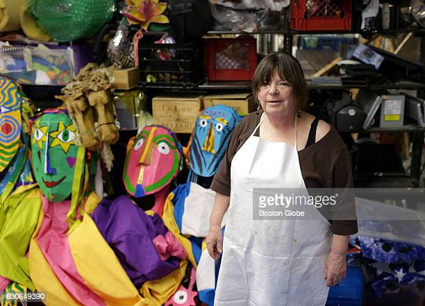 Puppet maker Sara Beattie at her shop on Newbury Street in Boston on Dec 28 2016 Her puppets will be in this year's First Night Celebration