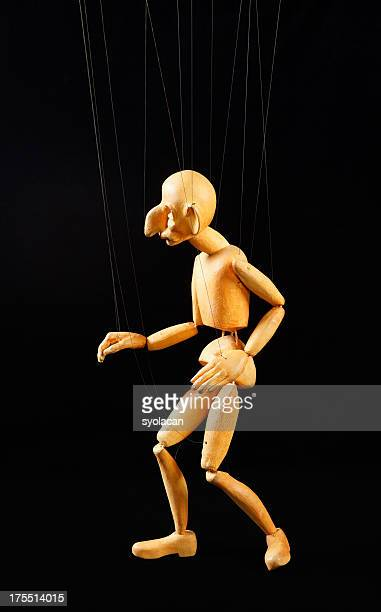 puppet on the strings - syolacan stock pictures, royalty-free photos & images