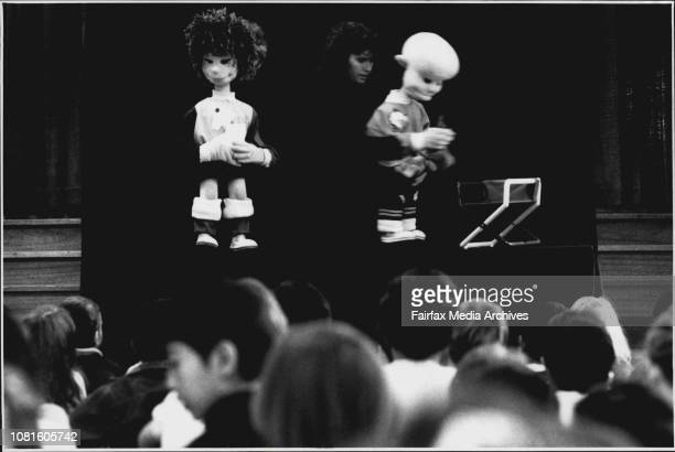 Puppet Show Pam Law Keely Bird Ryan Avery Vicki stack Vicki stack and Pam Law May 14 1992