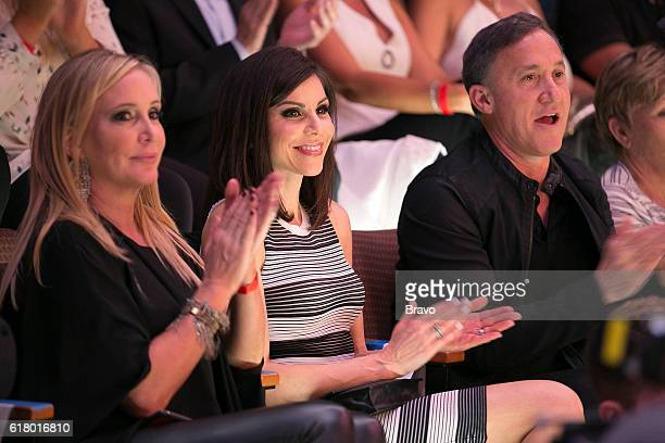 COUNTY Puppet Strings and Tamra's Wings Episode 1117 Pictured Shannon Beador Heather Dubrow Terry Dubrow