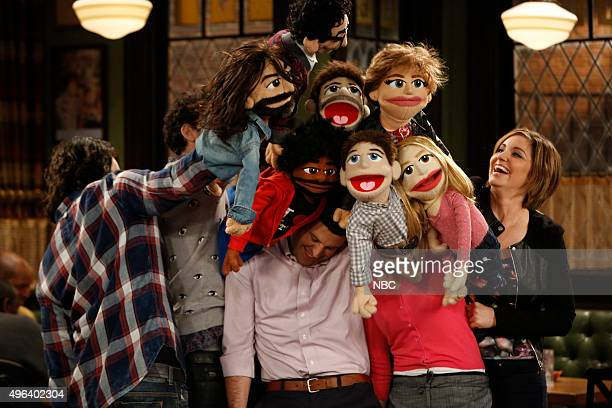 UNDATEABLE A Puppet Walks Into a Bar Episode 306A Pictured Chris D'Elia as Danny Rick Glassman as Burski Ron Funches as Shelly Brent Morin as Justin...