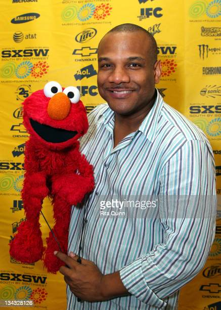 Puppeteer Kevin Clash attends the 2011 SXSW Music Film Interactive Festival 'Being Elmo' Premiere at Austin Convention Center on March 12 2011 in...