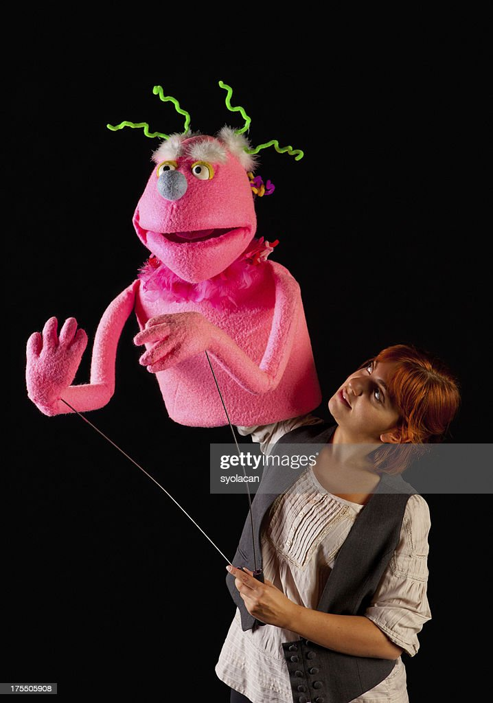 Puppeteer : Stock Photo