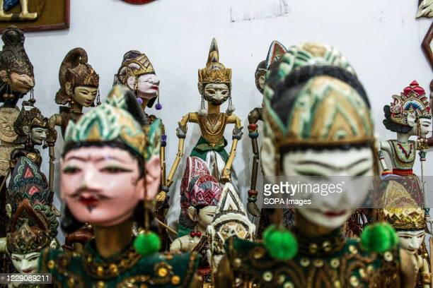 Puppets of ramayana type ready to be packed in Cupumanik Gallery Cupumanik Puppets Gallery which was founded in 1970 has exported puppets of various...