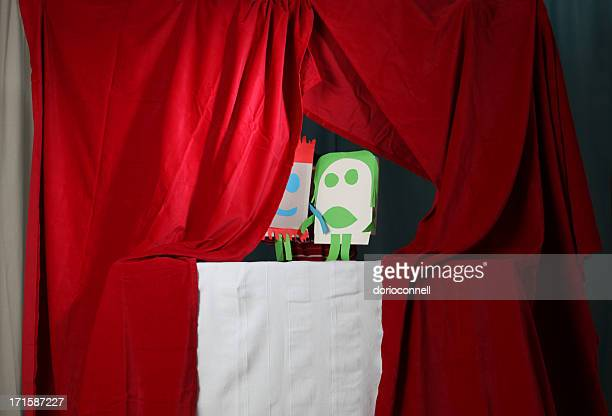 puppets - puppet show stock photos and pictures