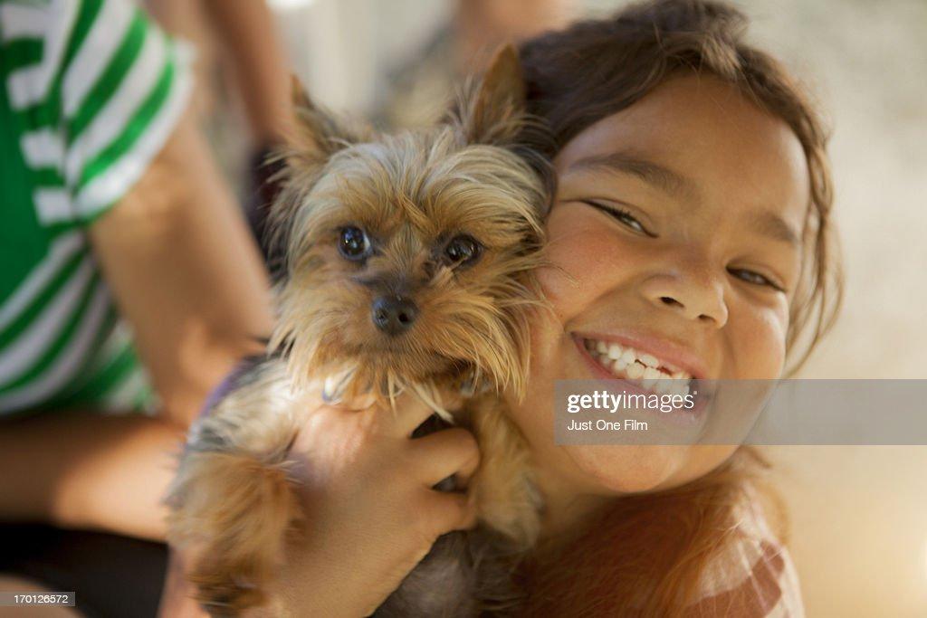 Puppy love. : Stock Photo
