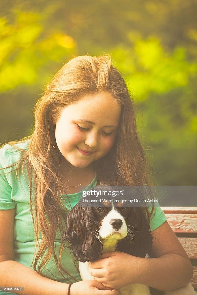 Puppy Love : Foto de stock