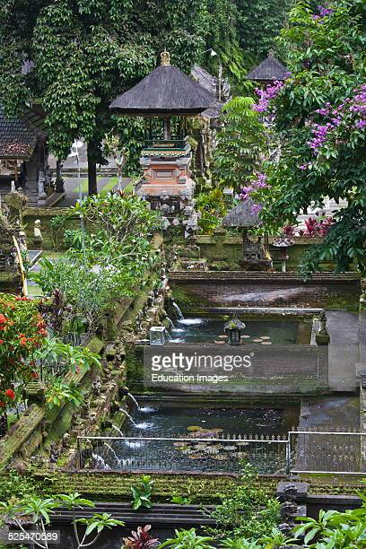 Pura Gunung Kawi A Hindu Water Temple Dedicated To The God Of Wisdom Vishnu Sebatu Bali Indonesia