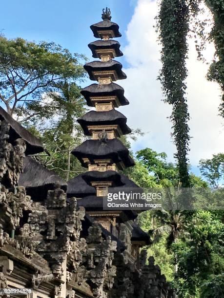 Pura Gunung Lebah temple complex.