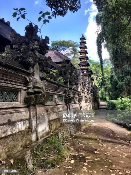 Pura Gunung Lebah temple complex. Ubud, Bali , Indonesia