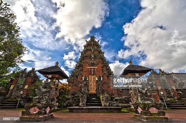 CONTENT] Pura Samuan Tiga temple in Ubud Bali was the royal temple of the Udayana Warmadewa dynasty Here you see the first courtyard after entering...