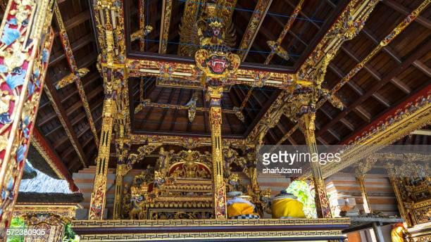 pura tirtha empul in bali - shaifulzamri stock pictures, royalty-free photos & images