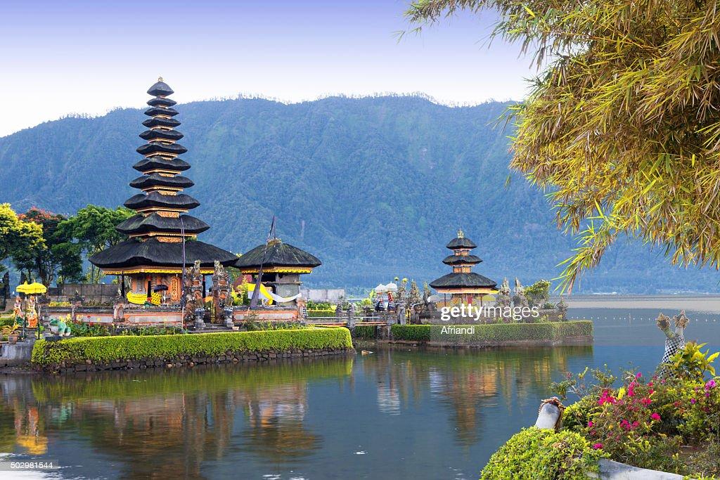 Pura Ulun Danu Bratan, Bali, Indonesia : Stock Photo