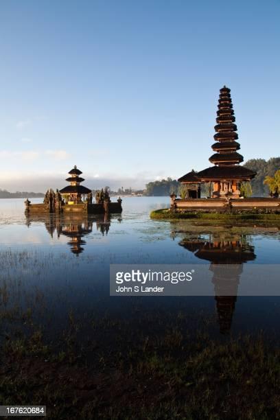 Pura Ulun Danu Bratan or Pura Bratan is a major water temple in Bali Indonesia The temple complex is located on the shores of Lake Bratan in the...
