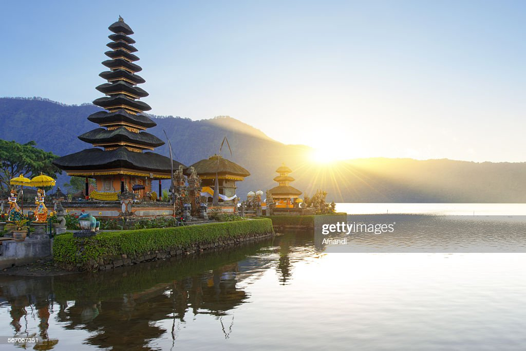 Pura Ulun Danu Bratan : Stock Photo