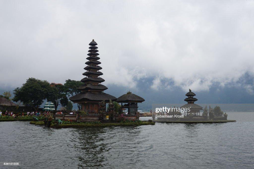 Pura Ulun Danu Bratan Temple Lake Bratan Bedugul Bali Indonesia