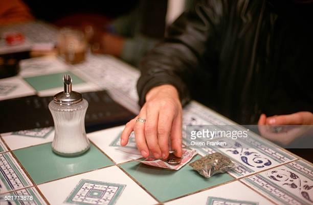 Purchasing Marijuana in a Coffee Shop