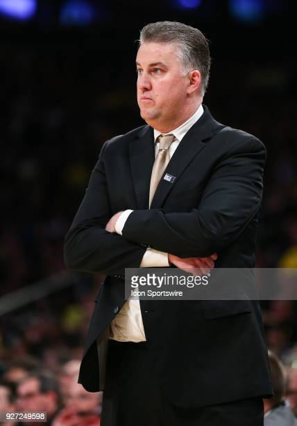 Purdue Boilermakers head coach Matt Painter is pictured during the Mens College Basketball Big Ten Tournament Championship Game betweenthe Michigan...