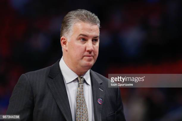 Purdue Boilermakers head coach Matt Painter looks on during the NCAA Division I Men's Championship First Round basketball game between the Purdue...