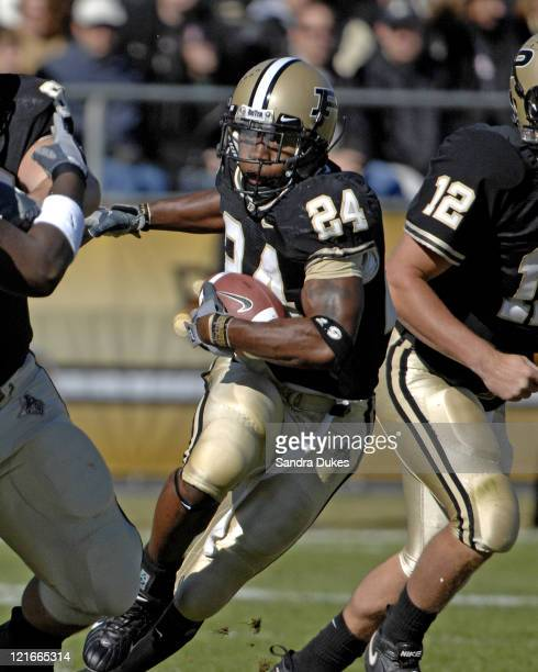 Purdue's WR Byron Williams in Penn State's 120 win over Purdue at RossAde Stadium in West Lafayette IN October 28 2006