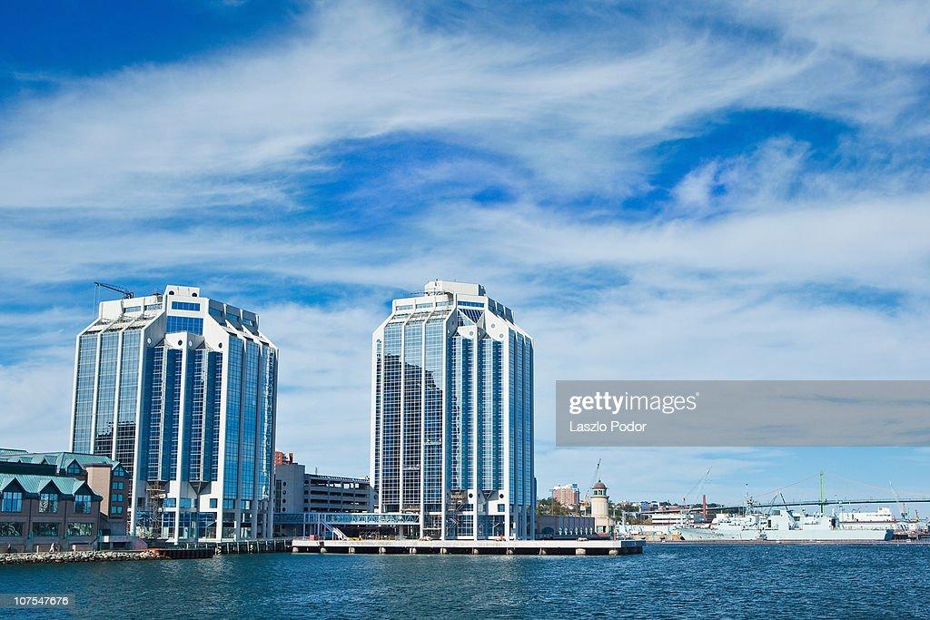 Purdys Wharf Halifax Nova Scotia Canada Stock Photo - Getty