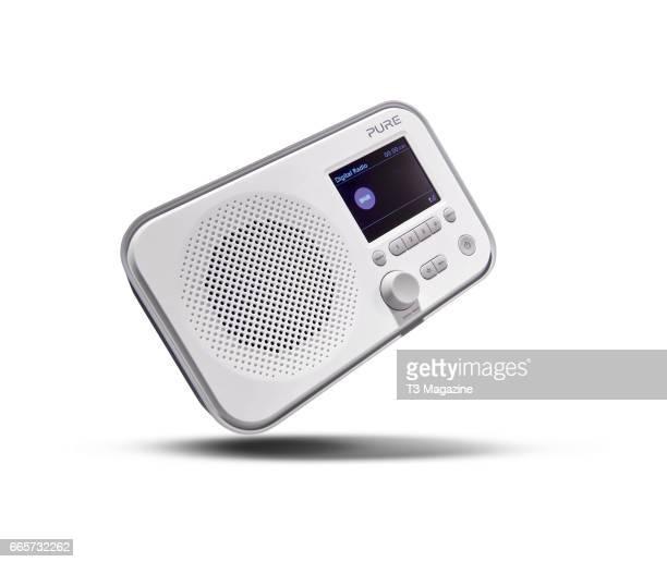 Pure Elan E3 digital radio, taken on August 16, 2016.