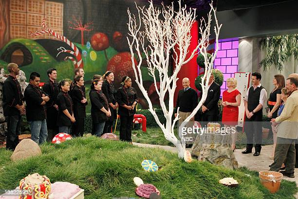 DESSERTS Pure Imagination Episode 204 Pictured Contestants Orlando Santos Carlos Enriquez Matthew Petersen Sally Camacho Megan Ketover Craig Poirier...