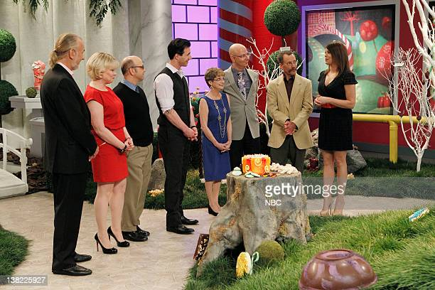 DESSERTS Pure Imagination Episode 204 Pictured Judges Hubert Keller Julie Dawn Cole Paris Themmen Johnny Iuzzini Denise Nickerson Ron Ben Israel...