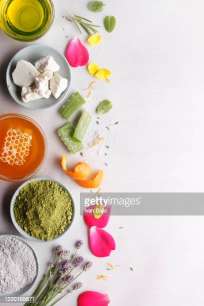 pure natural cosmetics - cosmetics stock pictures, royalty-free photos & images