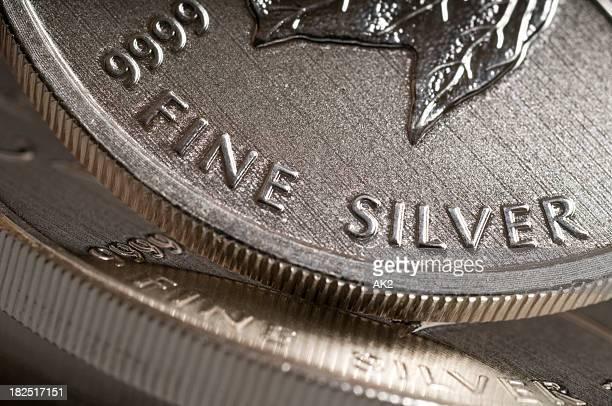 Pure silver bullion coins