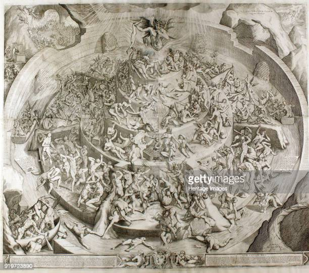 Purgatorio Illustration to the Divine Comedy by Dante Alighieri 1612 Private Collection